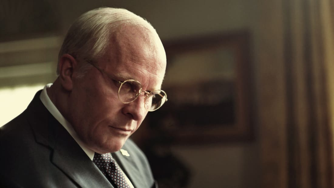 Christian Bale stars as Dick Cheney in Adam McKay's Vice (2018)