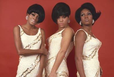 The Supremes—Diana Ross, Florence Ballard, and Mary Wilson—pictured in 1967.