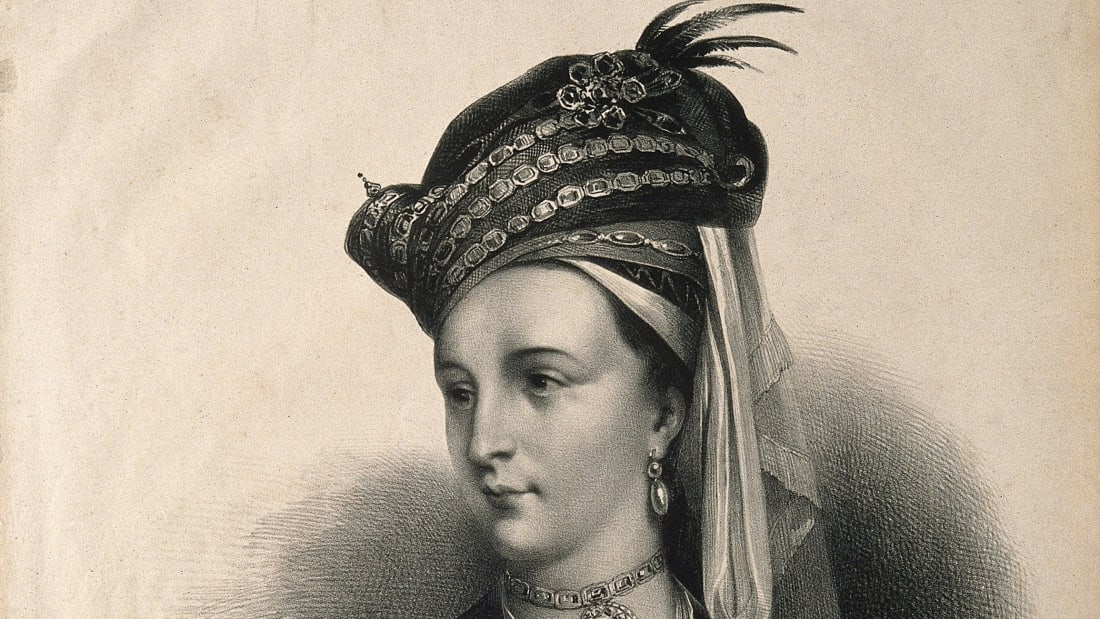 Lady Mary Wortley Montagu by A. Devéria