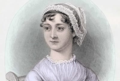 Jane Austen, thinking about toasted cheese.