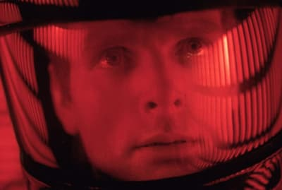 Keir Dullea in 2001: A Space Odyssey (1968).