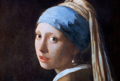 Johannes Vermeer's Girl With a Pearl Earring, circa 1665.