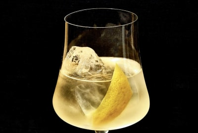 A photo of the Verjus Spritz from Good Drinks: Alcohol-Free Recipes for When You're Not Drinking for Whatever Reason.
