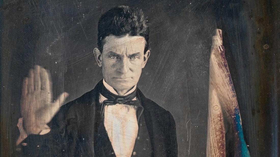 John Brown, circa 1846.