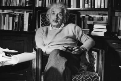 """When it came to books, Albert Einstein subscribed to the """"oldie but goodie"""" mentality. He wasn't the only one."""