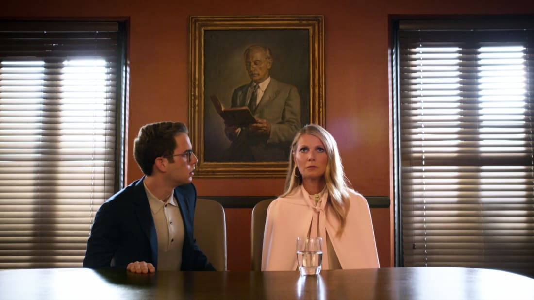 Ben Platt and Gwyneth Paltrow in The Politician (2019).