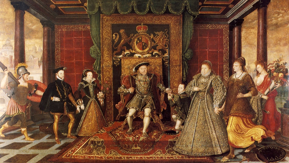 The Family of Henry VIII: An Allegory of the Tudor Succession (circa 1572).