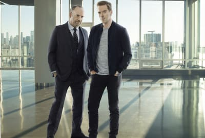 Paul Giamatti and Damian Lewis star in Showtime's Billions.