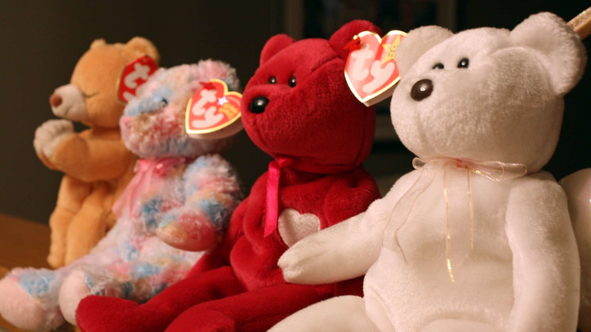 TY Beanie Babies -MWMT/'s Wholesale Mixed Lot of 10 TEDDY BEARS All Different