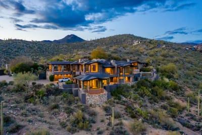 Steven Seagal's Arizona property.