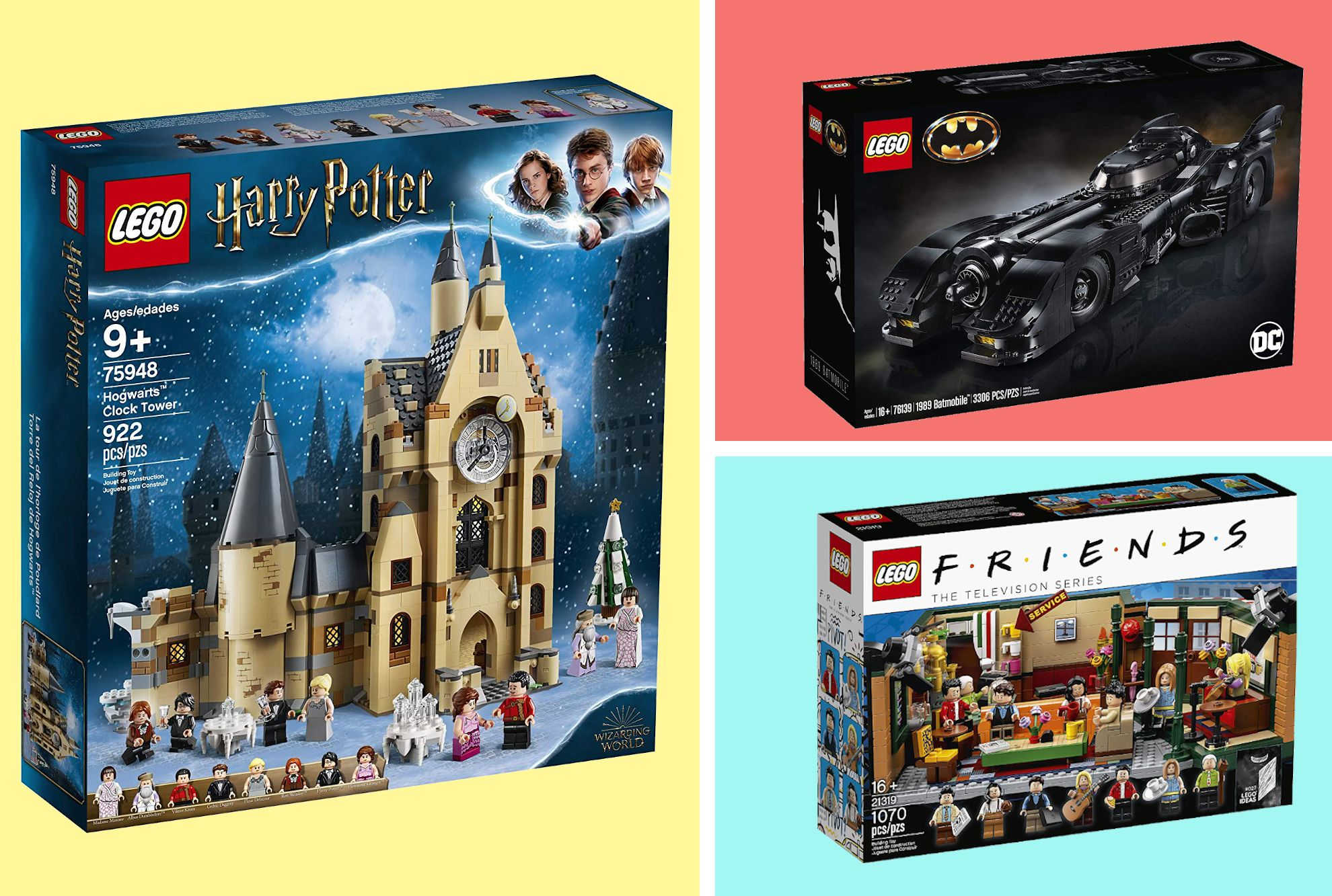 Pop Culture Lego Sets Star Wars Harry Potter And Avengers
