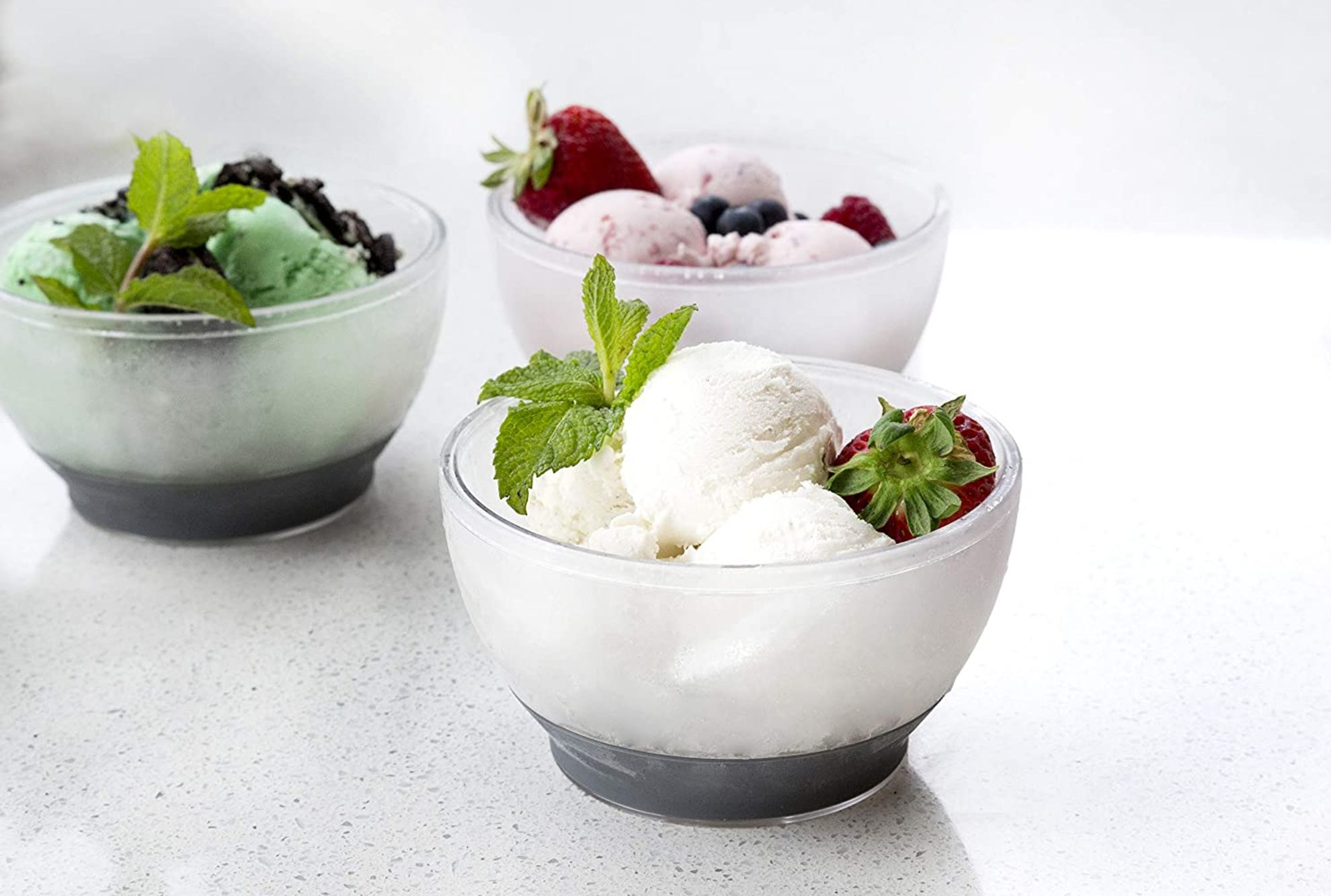 Insulated Bowl Keeps Ice Cream From Melting Mental Floss