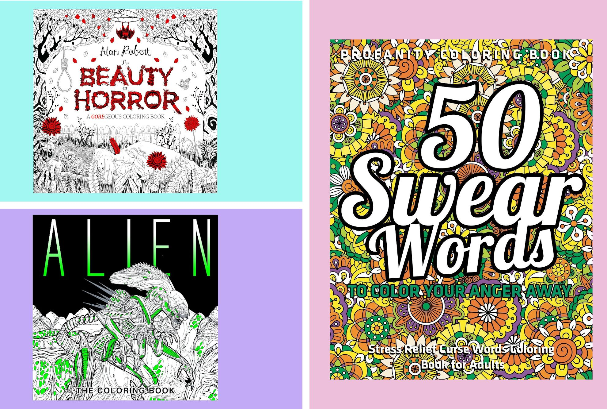 R Rated Adult Coloring Books Mental Floss