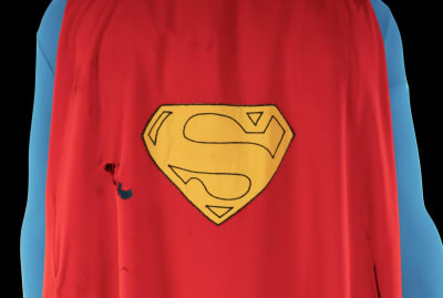 Christopher Reeve wore a special cape for the flying sequences in the Superman films.