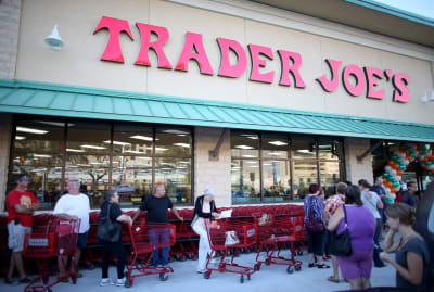 Trader Joe's can signal that local real estate values are high.