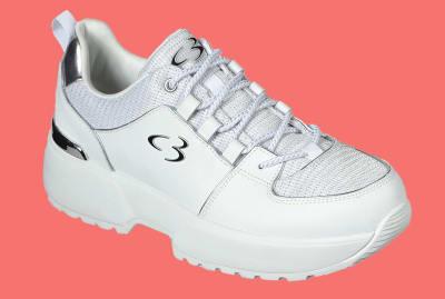 Concept 3 by Skechers Women's Beyond Fresh Lace-up Fashion Sneaker.