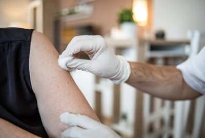 COVID-19 vaccines are being delivered in Austin, Texas.