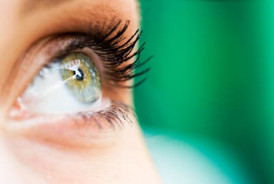 Something stuck in your eye? There's a solution for that.