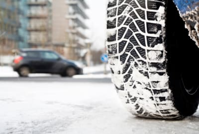 Snow tires can help you get a grip on winter weather.