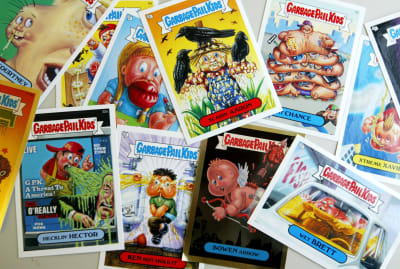 Original Garbage Pail Kids cards are more valuable than you might think.