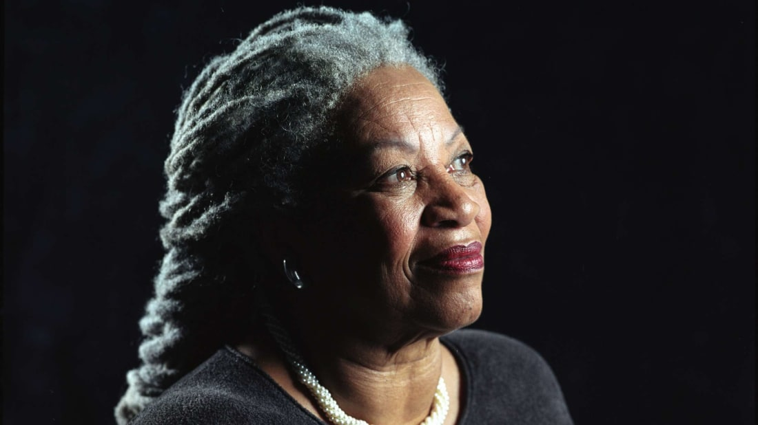 A portrait of Toni Morrison from 2002.