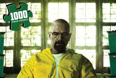 The Breaking Bad jigsaw puzzle.