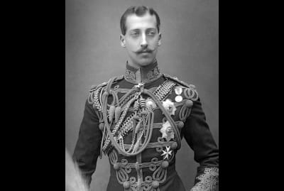 Prince Albert Victor photographed in 1891.