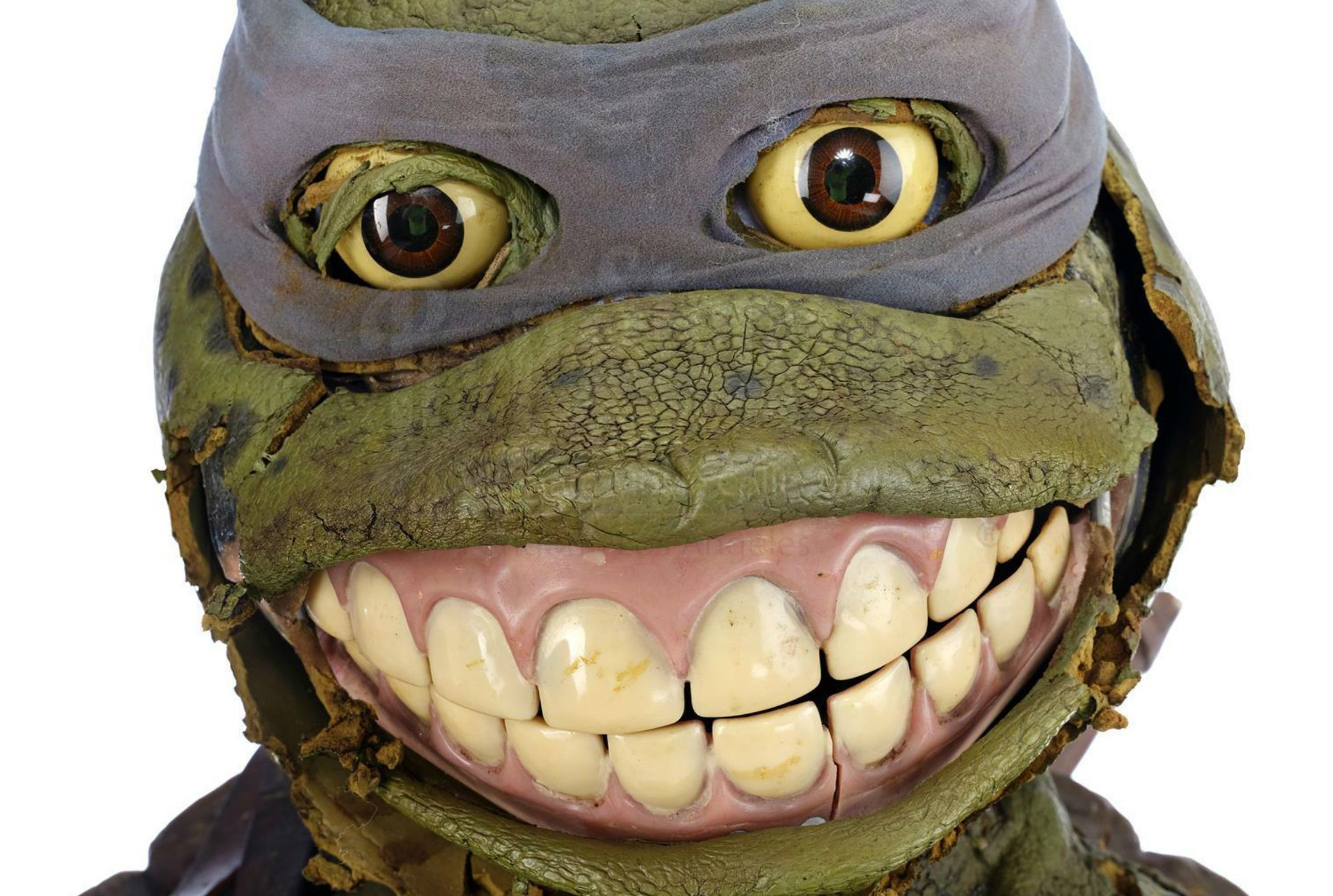 A Rotting Costume From Teenage Mutant Ninja Turtles Iii Fails To Find A Buyer At Auction Mental Floss
