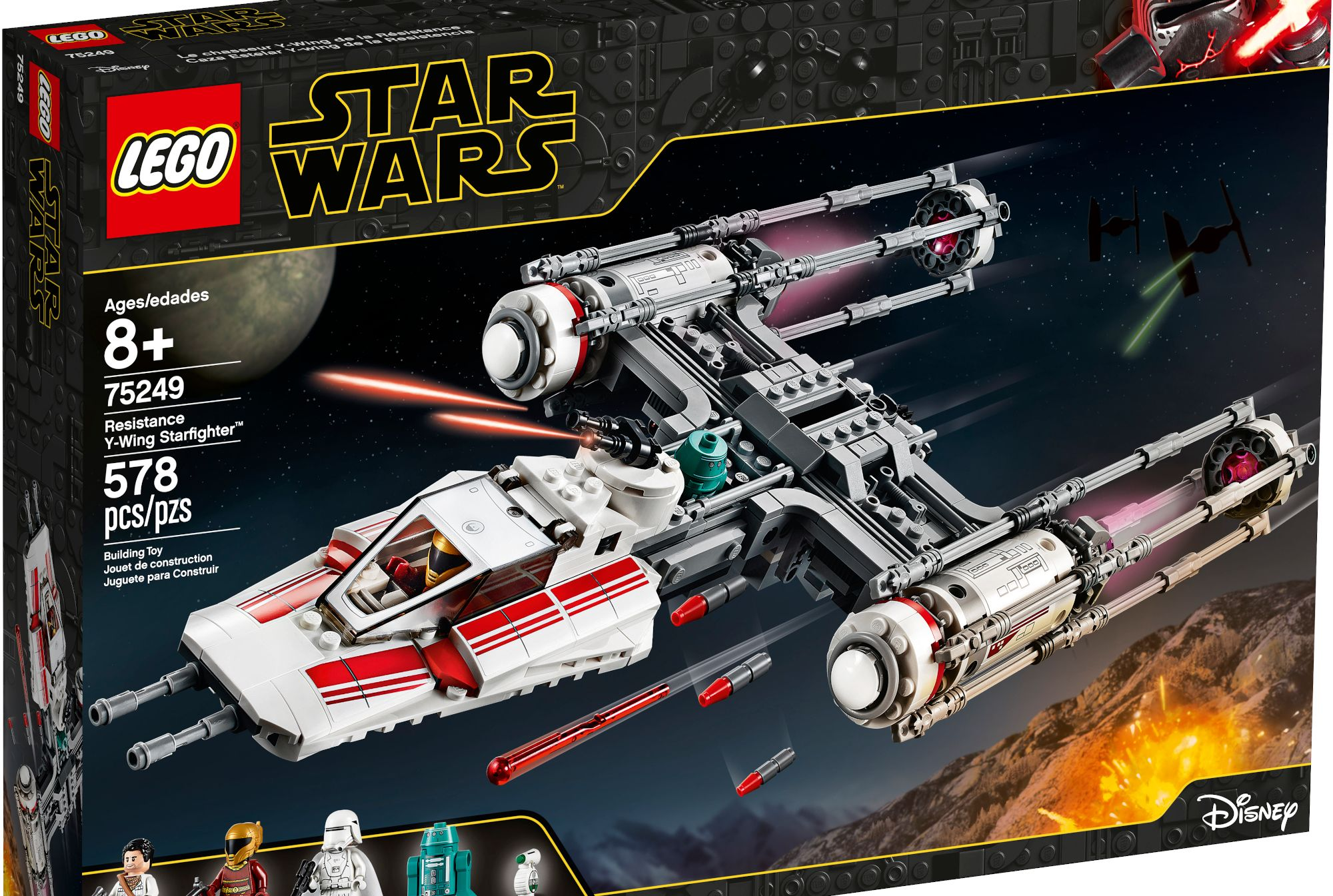 Lego Star Wars X-Wing Fighter Poe/'s X Wing 2015 Toys R Us Promo Event Disney