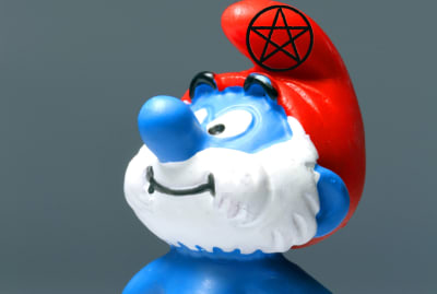 Nothing was spared from Satanic Panic in the 1980s. Not even Papa Smurf.