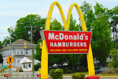 McDonald's was hoping to redefine a word they found offensive.
