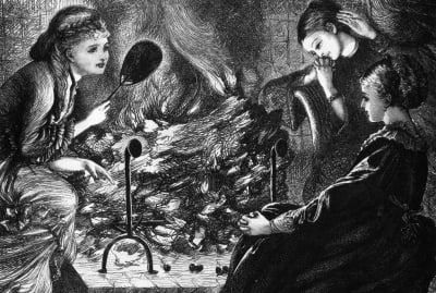 Victorians saw Halloween as a time to worry about marriage. And bake cakes with needles in them.