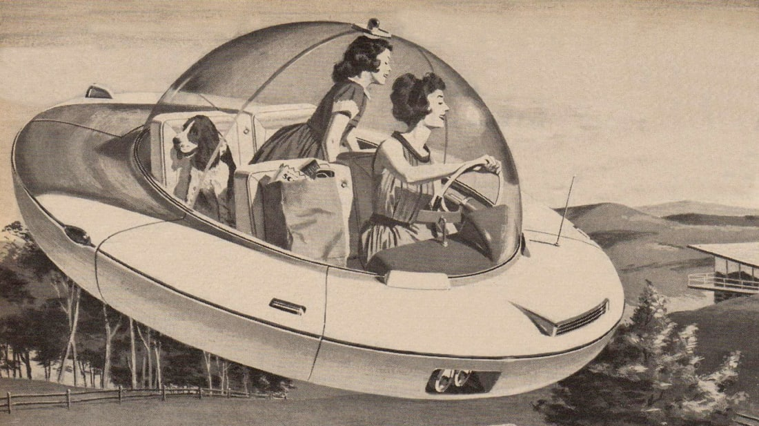 Personal airplanes aren't quite reality yet—and sadly, neither are personal space ships!