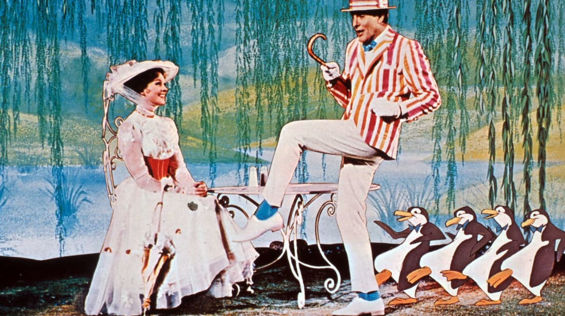Mary Poppins creator P.L. Travers hated the film's animated sequences.