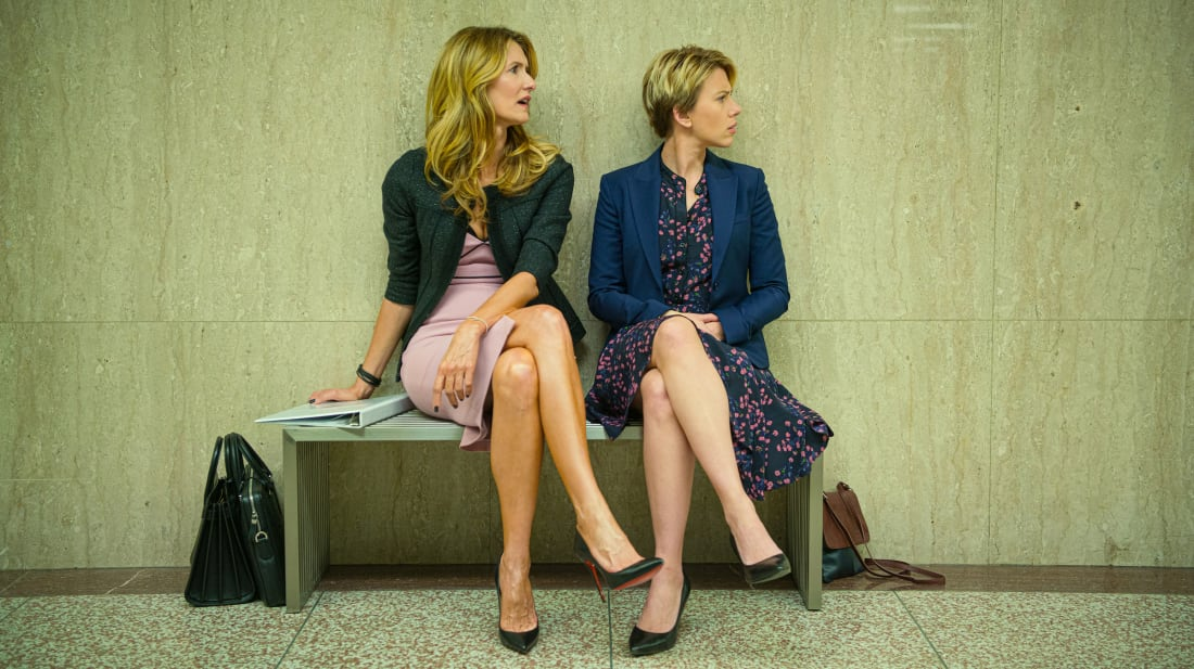 Laura Dern and Scarlett Johansson in Marriage Story (2019).