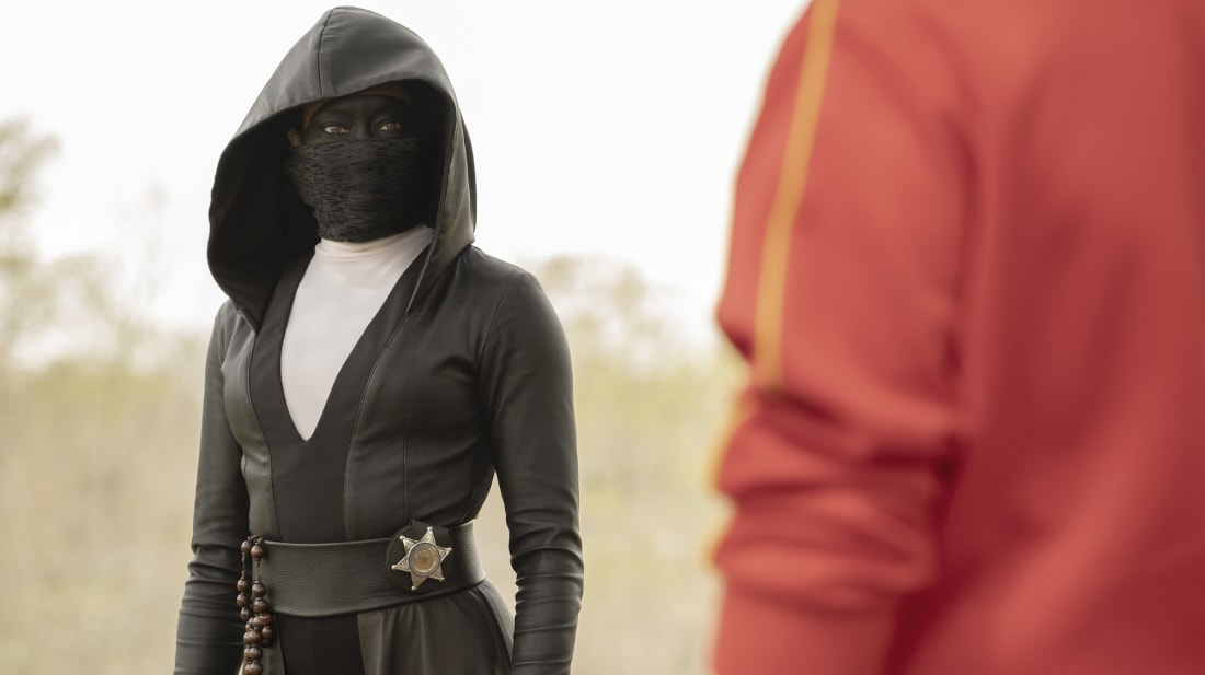 Regina King stars in HBO's Watchmen.
