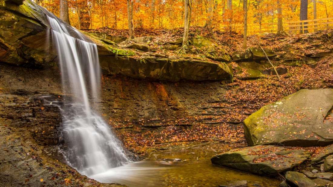 Cuyahoga Valley National Park in Autumn.