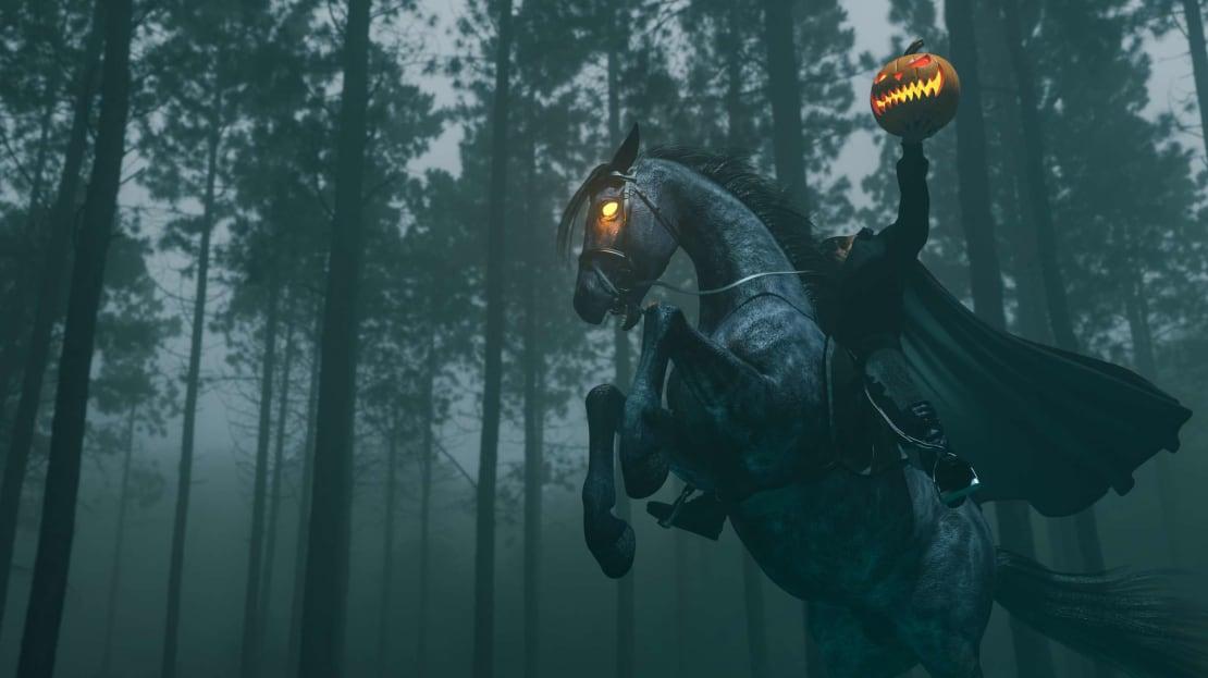 Tales of headless horseman predate The Legend of Sleepy Hollow.