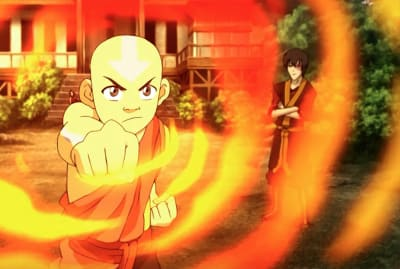 Zach Tyler in Avatar: The Last Airbender.