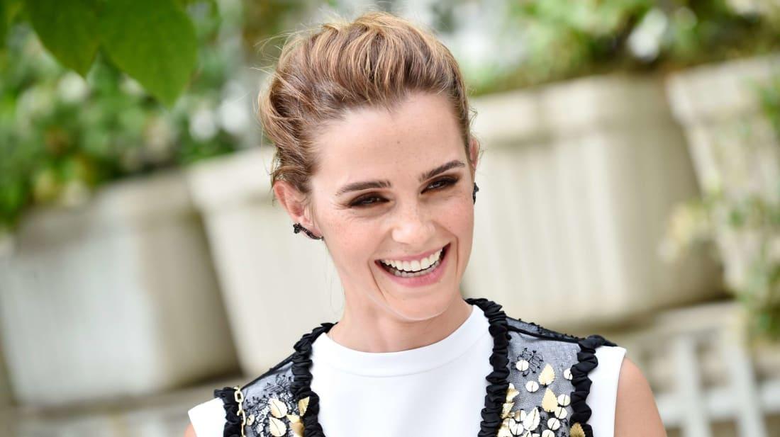 Actress Emma Watson.