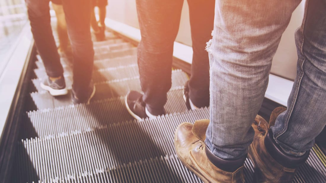 We've All Been Riding Escalators Wrong, According to the Manufacturers