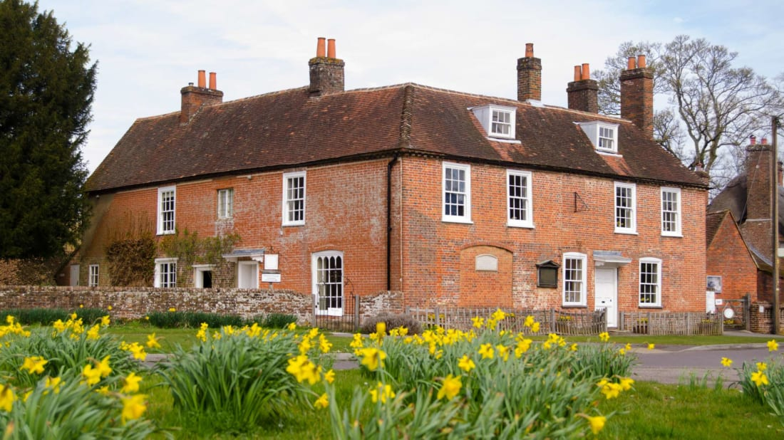 Jane Austen's House in Chawton, Hampshire.