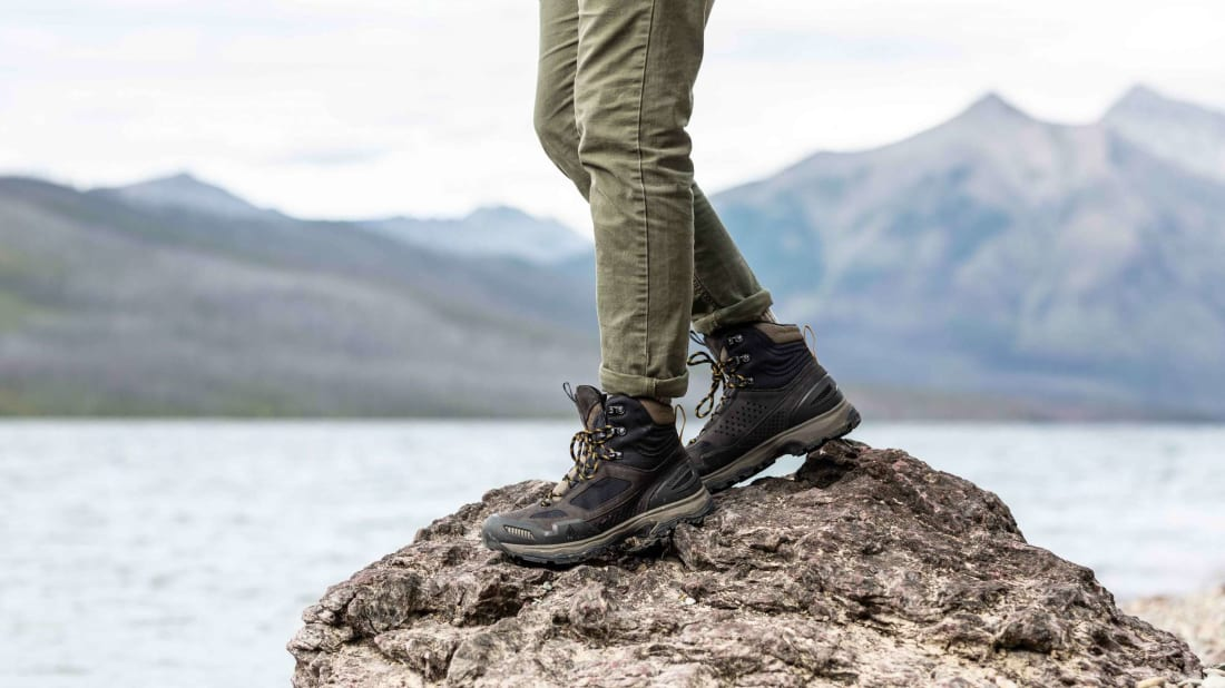 The nubuck leather and Gore-Tex will ensure your feet will always stay dry.