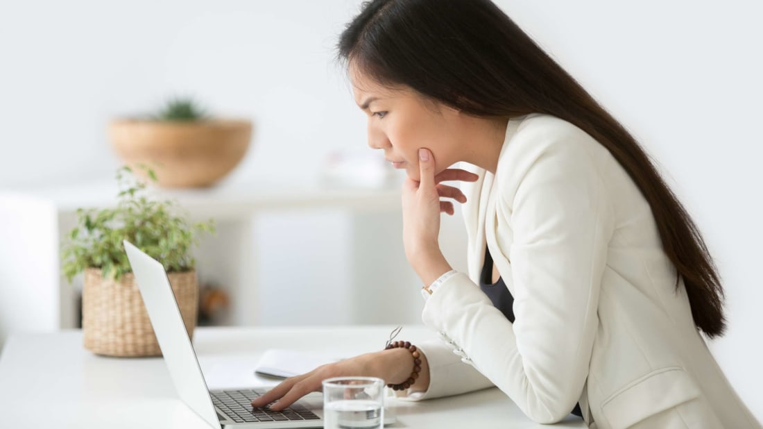 This woman is skeptical about misspellings in her emails, and you should be, too.