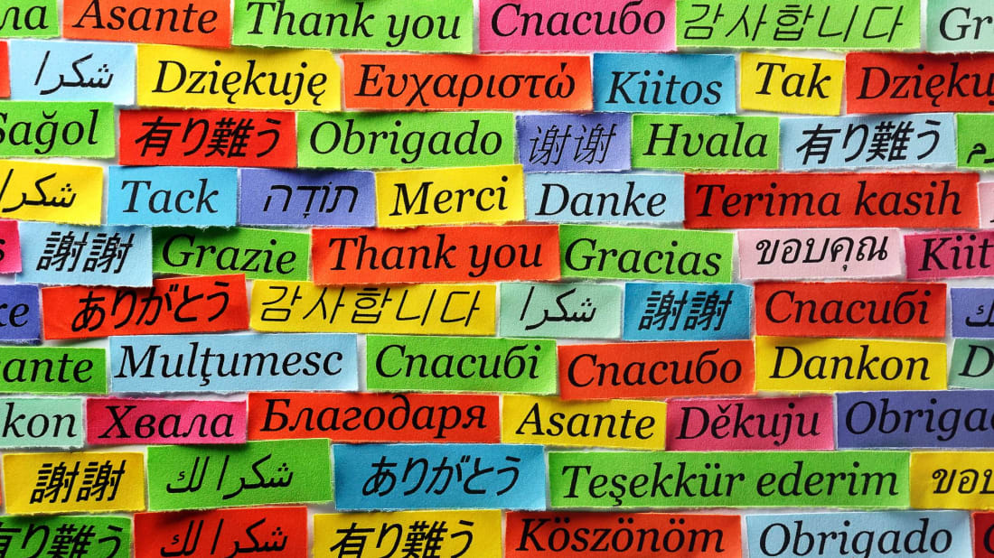 How many languages can you identify?