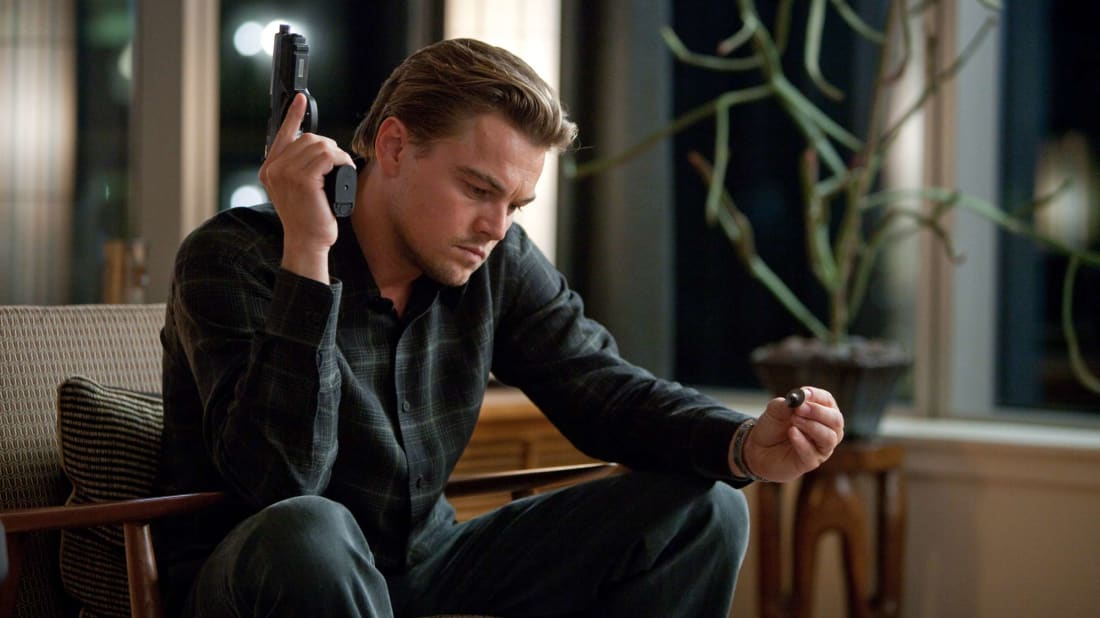 Leonardo DiCaprio's character in Inception was nearly as mind-boggled as viewers were.