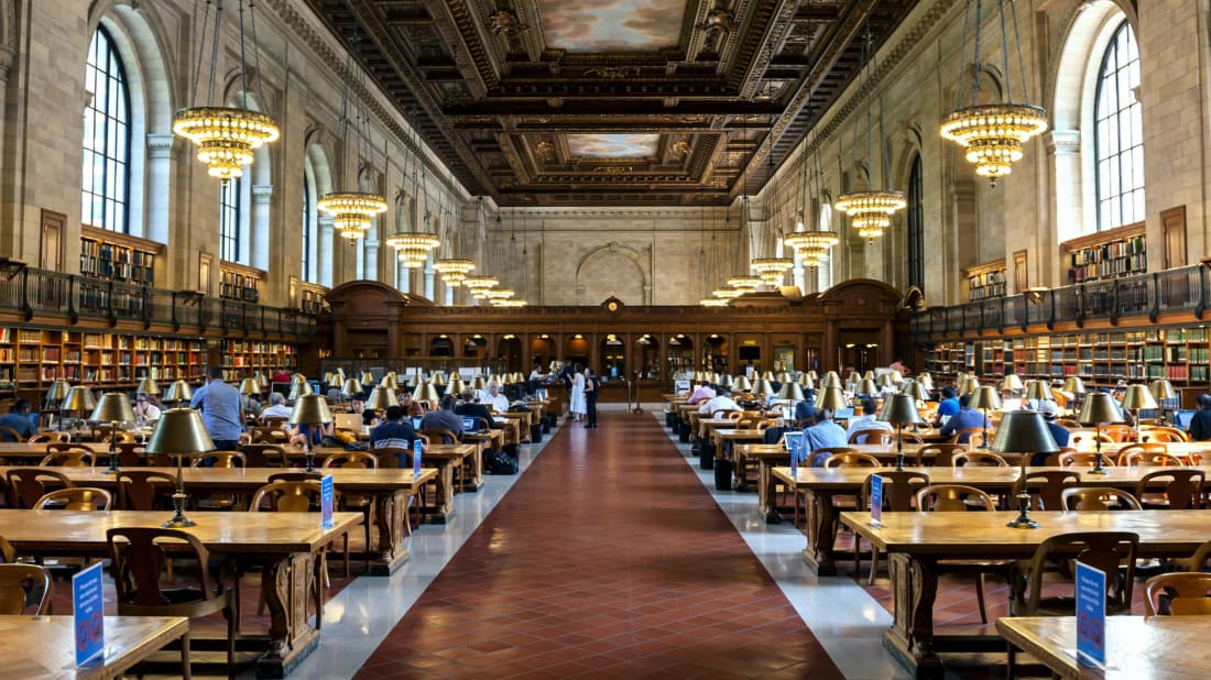 The New York Public Library's Rose Main Reading Room