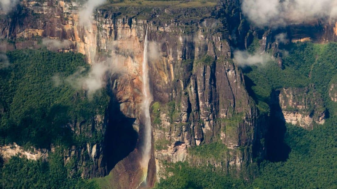 Kerepakupai-Merú, a.k.a. Angel Falls.