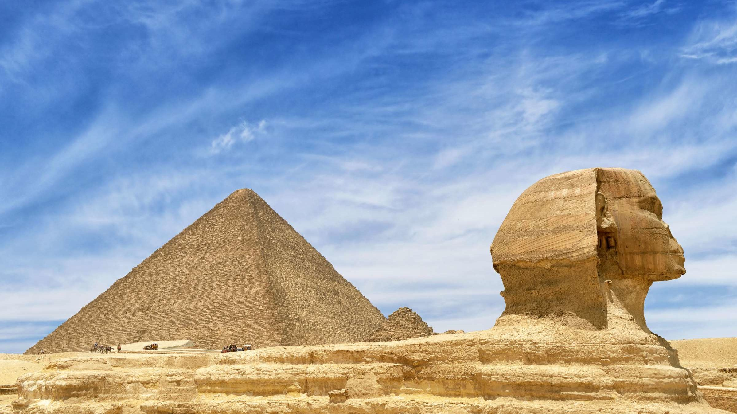 Visit the Pyramids of Giza Without Even Leaving Your Couch