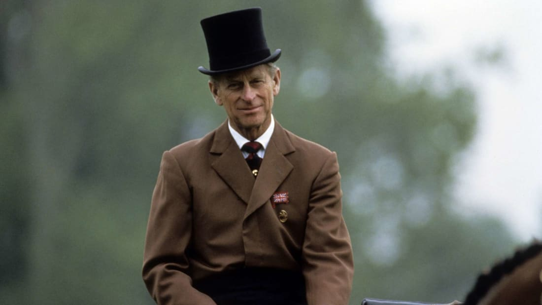 Prince Philip at the Royal Windsor Horse Show in Windsor, England in 1980.